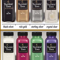 Saddles Tack Horse Supplies - ChickSaddlery.com Twinkle Toes Satin Hoof Polish
