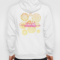Hello Sunshine Hoody by Noonday Design