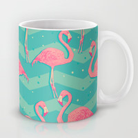 Flamingo Mug by Julia