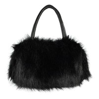 TEXU Lovely handbags women bags designer Faux Rabbit Fur bags Small Messenger Bag for Women Crossbody Shoulder Bags
