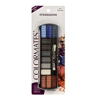 Colormates Island Oasis 12-Color Eyeshadow Palettes with Applicators