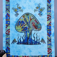 Tapestry Wall Hanging, Psychedelic Mushroom Tapestry, Hippie Boho Tapestry Tapestries, Bohemian Wall Tapestries, Dorm Tapestry Beach Throw