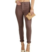 Sale-mauve The Skinny Fit Jeans