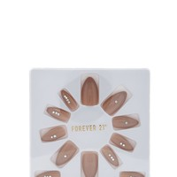 Dusty Pink Press-On Nails Set