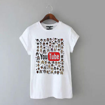 YOUTUBE T SHIRT YOUTUBERS TUMBLR INSTAGRAM FASHION TOP NEW