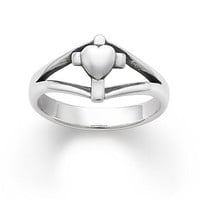 Cross with Heart Ring | James Avery