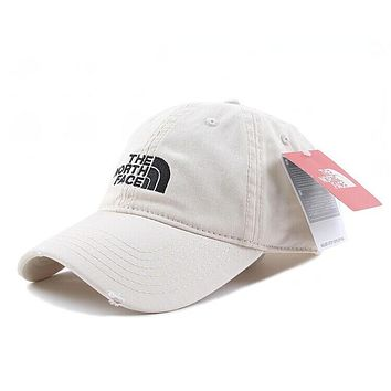 Perfect The North Face Women Men Embroidery Leisure Sunshade Cap Sport Baseball Cap Hat Tagre™