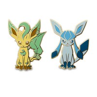 Leafeon and Glaceon Pokémon Pins