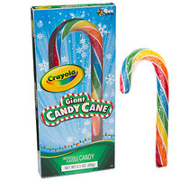 Crayola Giant Candy Canes: 12-Piece Box