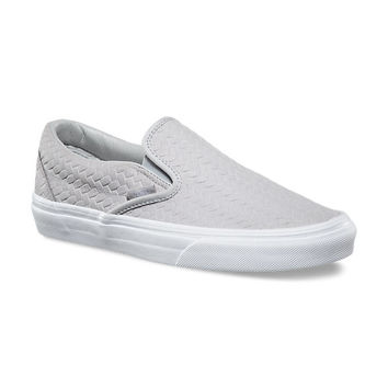 Embossed Woven Suede Slip-On | Shop Shoes At Vans