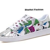 Women Summer Colorful Casual Sneakers