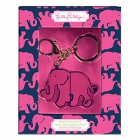 Keychain with USB Flash Drive in Tusk in Sun by Lilly Pulitzer