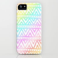 Rainbow Love iPhone & iPod Case by Pink Berry Pattern
