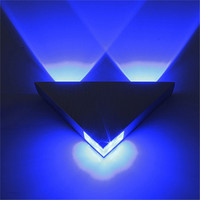 Modern Triangle LED Wall Lights