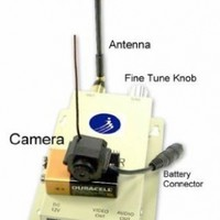 Smallest Hidden Spy cam Color Wireless Camera /w Audio * Completed System*