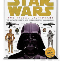 Star Wars Visual Dictionary Hardcover Book