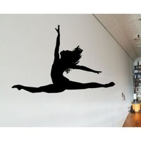 Dance AL 042 Sports Vinyl Decal Car or Wall Sticker Mural