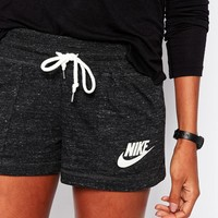 Nike Vintage Shorts With Swoosh Logo