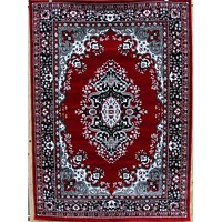 1089 Red Oriental Area Rugs