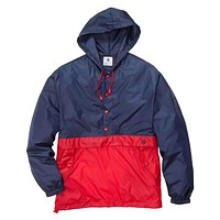 Labrador Pullover in Red/Navy by Southern Proper