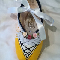Ballerina Doll ...  Decorated Pointe Shoe