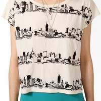Boxy Skyline Top