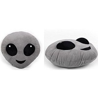 Emojicon Alien Pillow