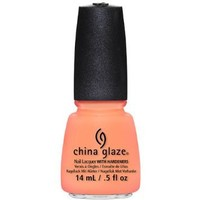China Glaze Nail Lacquer, Sun Of A Peach, 0.5 Fluid Ounce