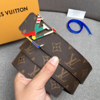 High Quality LV LOUIS VUITTON Genuine Leather Belt