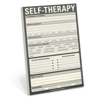 Self-Therapy Pad by Knock Knock - knockknockstuff.com