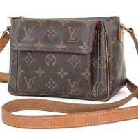 Authentic LOUIS VUITTON Viva Cite PM Monogram Canvas Shoulder Hand Bag #27628