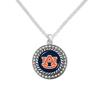 University of Auburn Tigers Game Day Pendant Necklace