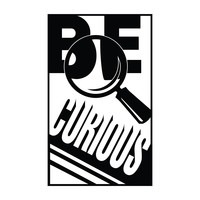 Be Curious - Office Quote Wall Decals