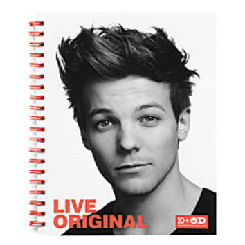 One Direction Limited Edition 1D OD Together Spiral Notebook Louis Original Orange by Office Depot