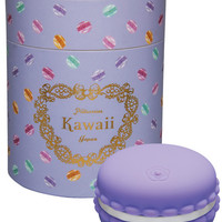 Tokyo Design Kawaii Macaroon Rechargeable Silicone Vibe - Violet