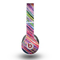 The Abstract Color Strokes Skin for the Beats by Dre Original Solo-Solo HD Headphones