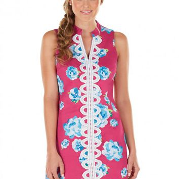 Hooked On You Dress In Pink   Monday Dress Boutique