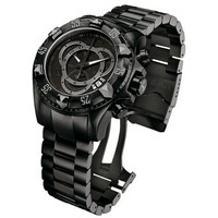 Invicta Men's 6474 Reserve Collection Excursion Chronograph Black Ion-Plated ...