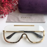 Gucci Men Women Fashion Popular Summer Sun Shades Eyeglasses Glasses Sunglasses
