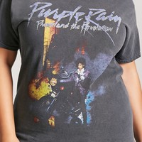 Plus Size Prince Purple Rain Tee