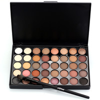 Professional 40 Color Eye Shadow Nude Palette Makeup Matte Natural Long Lasting Beauty Eyeshadow Palette Maquiagem