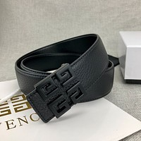 Givenchy men's smooth buckle simple personality fashion belt