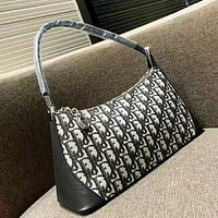 DIOR Fashion New More Letter Leather Shopping Leisure Shoulder Bag Women Handbag