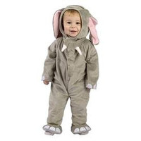 Fun World Cuddly Elephant Halloween Party Costume Set