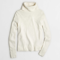 Factory rolled turtleneck sweater