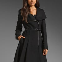 Mackage Ginette Coat in Black from REVOLVEclothing.com