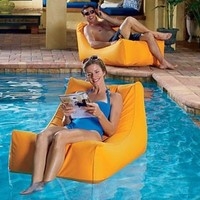 Sunsoft Floating Pool Chaise - Improvements: Patio, Lawn & Garden