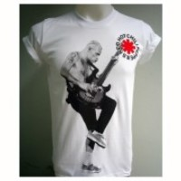 Red Hot Chili Peppers American rock band Michael Flea Balzary bass T-Shirt S-XL