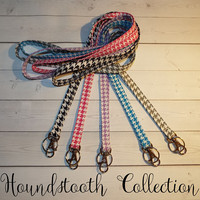 Skinny floral Lanyard  ID Badge Holder -  Lobster clasp and key ring New Thinner  Design - vintage inspired flowers tiny flower