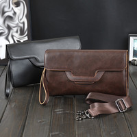 mens womens casual leather messenger bag